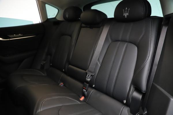 New 2021 Maserati Levante Q4 GranSport for sale $93,585 at Alfa Romeo of Westport in Westport CT 06880 20