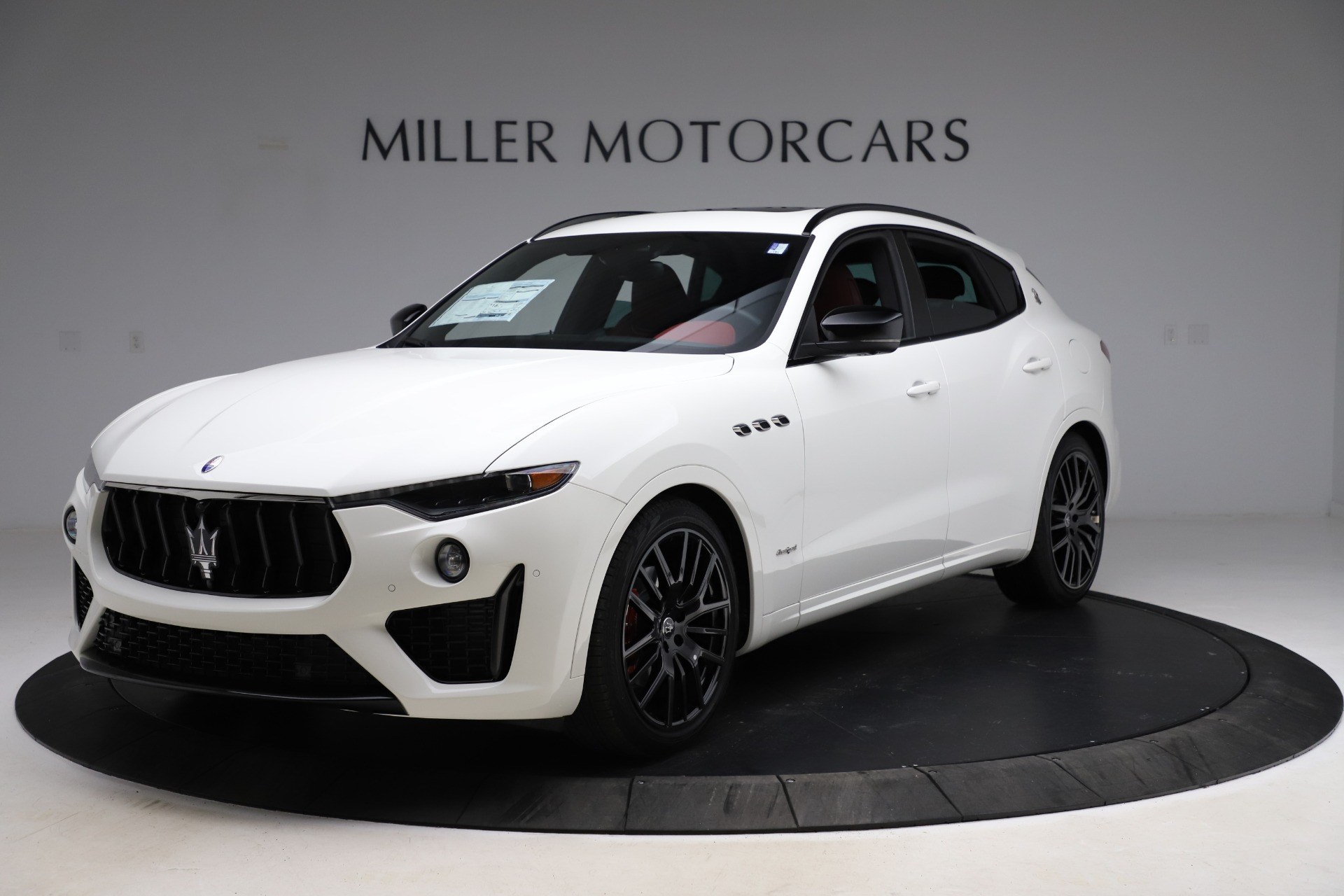 New 2021 Maserati Levante Q4 GranSport for sale $92,935 at Alfa Romeo of Westport in Westport CT 06880 1