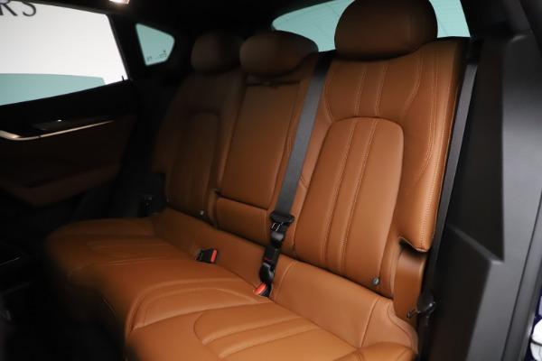 New 2021 Maserati Levante S Q4 GranSport for sale $100,185 at Alfa Romeo of Westport in Westport CT 06880 20