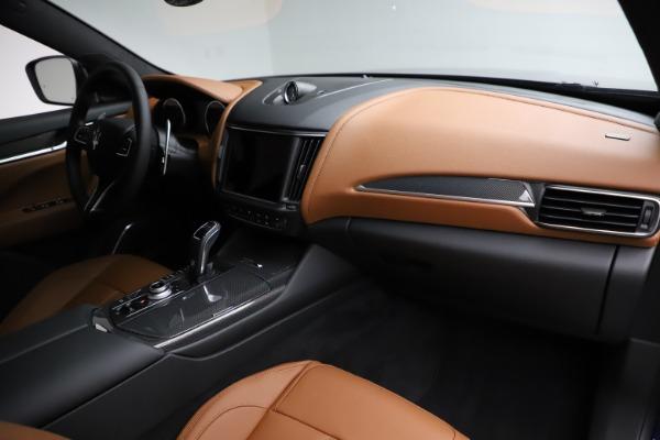 New 2021 Maserati Levante S Q4 GranSport for sale $100,185 at Alfa Romeo of Westport in Westport CT 06880 22