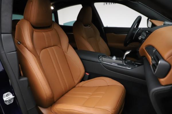 New 2021 Maserati Levante S Q4 GranSport for sale $100,185 at Alfa Romeo of Westport in Westport CT 06880 24
