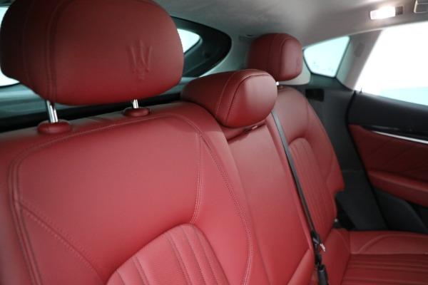 New 2021 Maserati Levante Q4 for sale Call for price at Alfa Romeo of Westport in Westport CT 06880 24