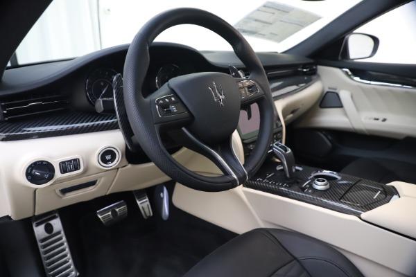 New 2021 Maserati Quattroporte S Q4 GranSport for sale $129,185 at Alfa Romeo of Westport in Westport CT 06880 13