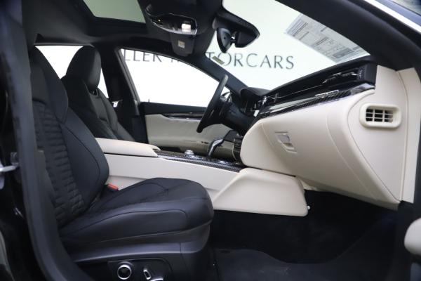New 2021 Maserati Quattroporte S Q4 GranSport for sale $129,185 at Alfa Romeo of Westport in Westport CT 06880 19