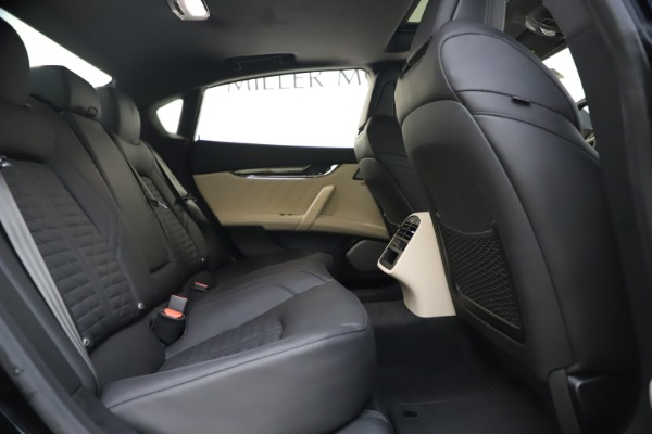 New 2021 Maserati Quattroporte S Q4 GranSport for sale $129,185 at Alfa Romeo of Westport in Westport CT 06880 26