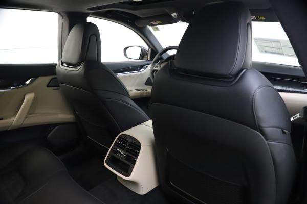 New 2021 Maserati Quattroporte S Q4 GranSport for sale $129,185 at Alfa Romeo of Westport in Westport CT 06880 27