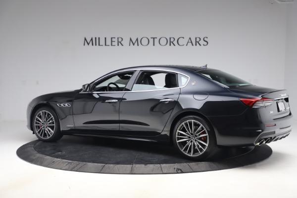 New 2021 Maserati Quattroporte S Q4 GranSport for sale $129,185 at Alfa Romeo of Westport in Westport CT 06880 4