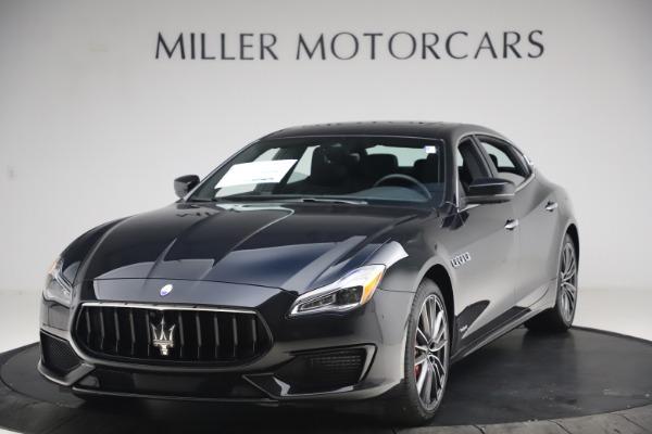 New 2021 Maserati Quattroporte S Q4 GranSport for sale $129,185 at Alfa Romeo of Westport in Westport CT 06880 1