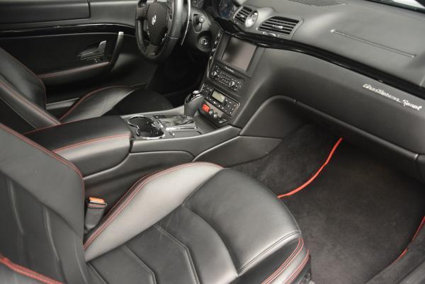 Used 2013 Maserati GranTurismo Sport for sale Sold at Alfa Romeo of Westport in Westport CT 06880 17