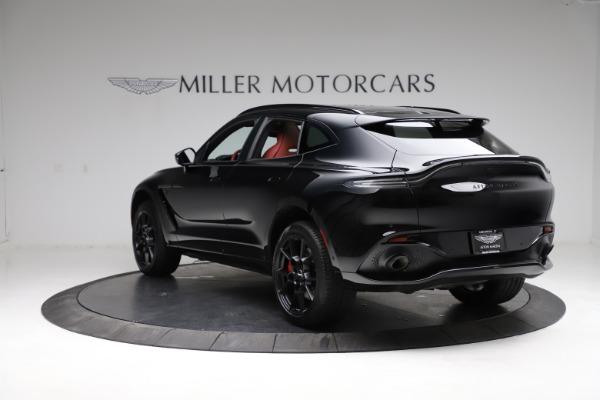 New 2021 Aston Martin DBX SUV for sale $200,986 at Alfa Romeo of Westport in Westport CT 06880 4