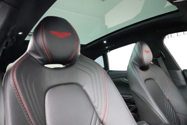 New 2021 Aston Martin DBX SUV for sale $212,686 at Alfa Romeo of Westport in Westport CT 06880 22