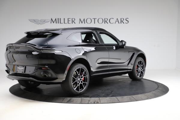 New 2021 Aston Martin DBX SUV for sale $212,686 at Alfa Romeo of Westport in Westport CT 06880 7