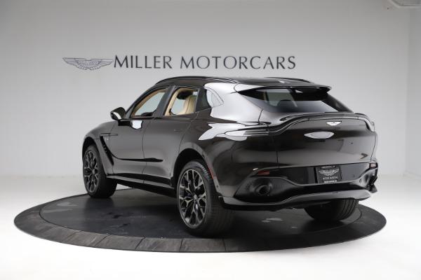 New 2021 Aston Martin DBX SUV for sale $215,386 at Alfa Romeo of Westport in Westport CT 06880 4