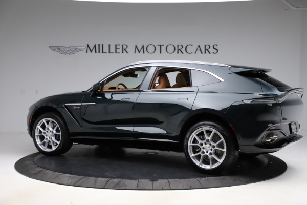 New 2021 Aston Martin DBX SUV for sale $221,386 at Alfa Romeo of Westport in Westport CT 06880 3
