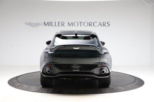 New 2021 Aston Martin DBX SUV for sale $221,386 at Alfa Romeo of Westport in Westport CT 06880 5