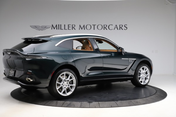 New 2021 Aston Martin DBX SUV for sale $221,386 at Alfa Romeo of Westport in Westport CT 06880 7