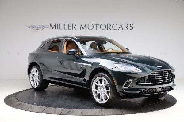 New 2021 Aston Martin DBX SUV for sale $221,386 at Alfa Romeo of Westport in Westport CT 06880 9