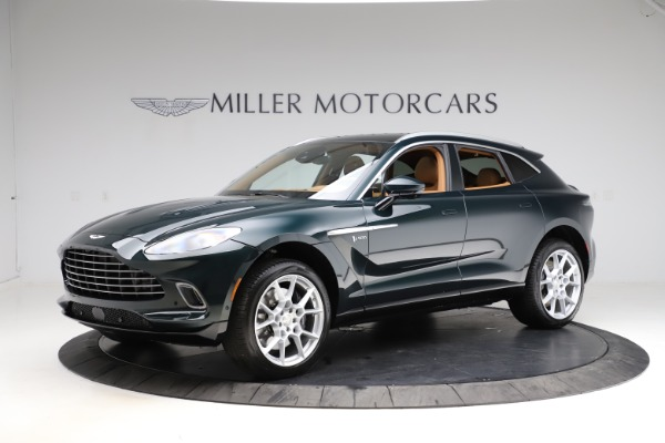 New 2021 Aston Martin DBX SUV for sale $221,386 at Alfa Romeo of Westport in Westport CT 06880 1