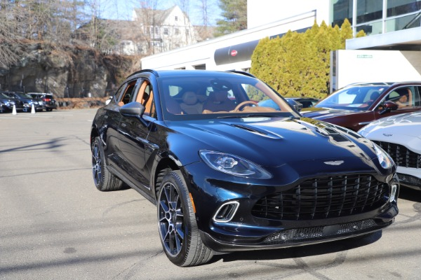 New 2021 Aston Martin DBX SUV for sale $264,386 at Alfa Romeo of Westport in Westport CT 06880 28