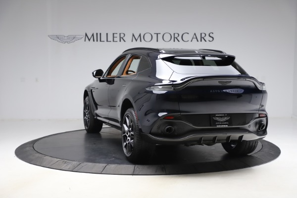 New 2021 Aston Martin DBX SUV for sale $264,386 at Alfa Romeo of Westport in Westport CT 06880 4