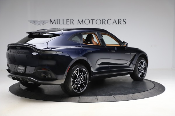 New 2021 Aston Martin DBX SUV for sale $264,386 at Alfa Romeo of Westport in Westport CT 06880 7