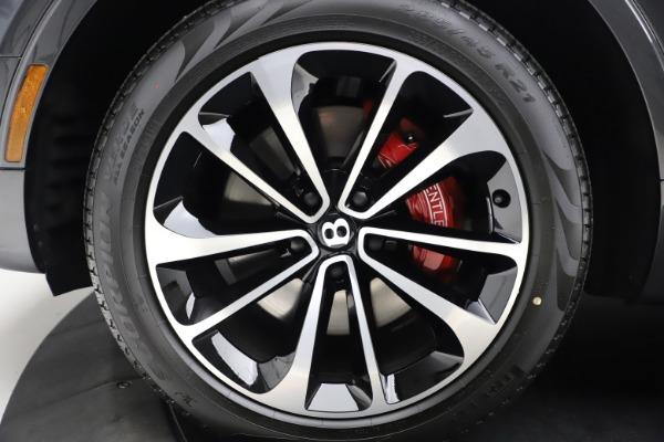 New 2021 Bentley Bentayga V8 for sale $213,720 at Alfa Romeo of Westport in Westport CT 06880 15