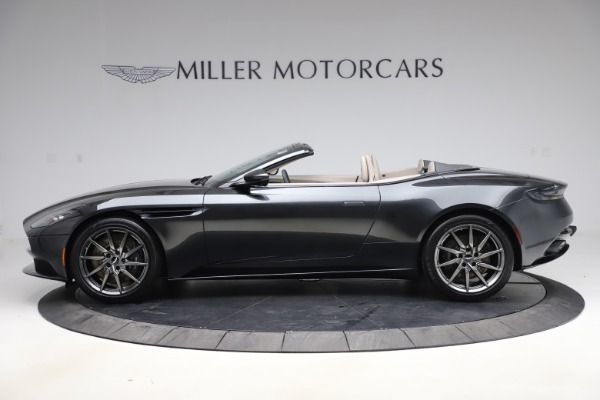 New 2021 Aston Martin DB11 Volante Convertible for sale $270,386 at Alfa Romeo of Westport in Westport CT 06880 2