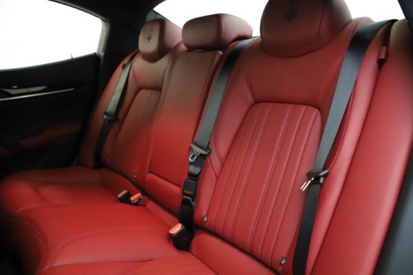 New 2021 Maserati Ghibli S Q4 GranLusso for sale $95,835 at Alfa Romeo of Westport in Westport CT 06880 19