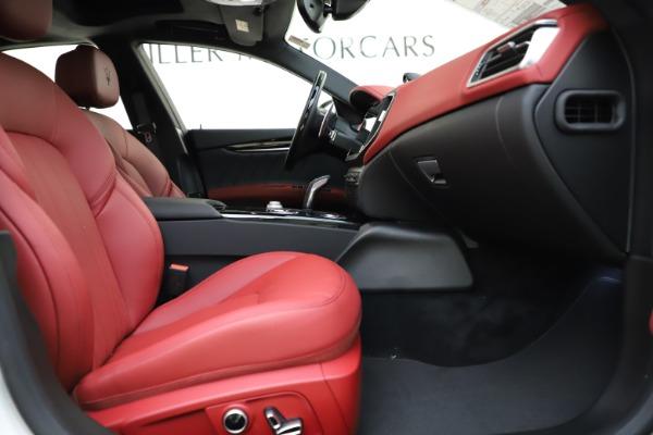 New 2021 Maserati Ghibli S Q4 GranLusso for sale $95,835 at Alfa Romeo of Westport in Westport CT 06880 23