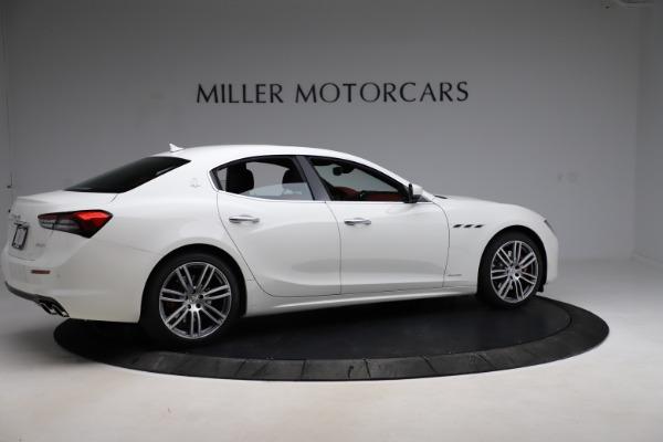 New 2021 Maserati Ghibli S Q4 GranLusso for sale $95,835 at Alfa Romeo of Westport in Westport CT 06880 8
