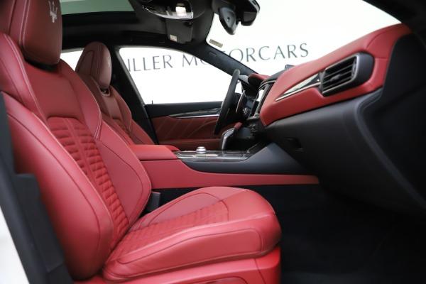 New 2021 Maserati Levante GTS for sale $140,585 at Alfa Romeo of Westport in Westport CT 06880 22