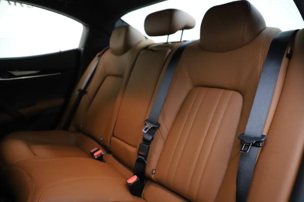 New 2021 Maserati Ghibli S Q4 for sale $90,925 at Alfa Romeo of Westport in Westport CT 06880 17