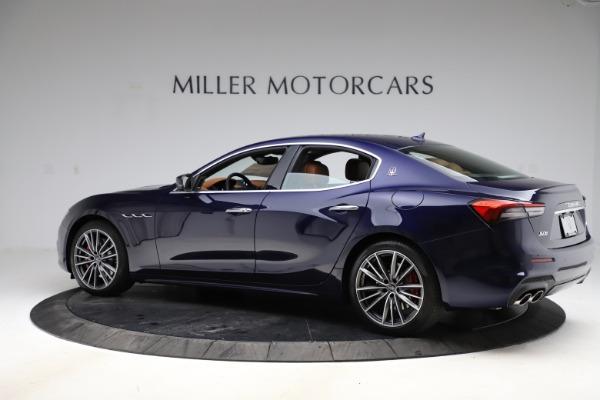 New 2021 Maserati Ghibli S Q4 for sale $90,925 at Alfa Romeo of Westport in Westport CT 06880 4