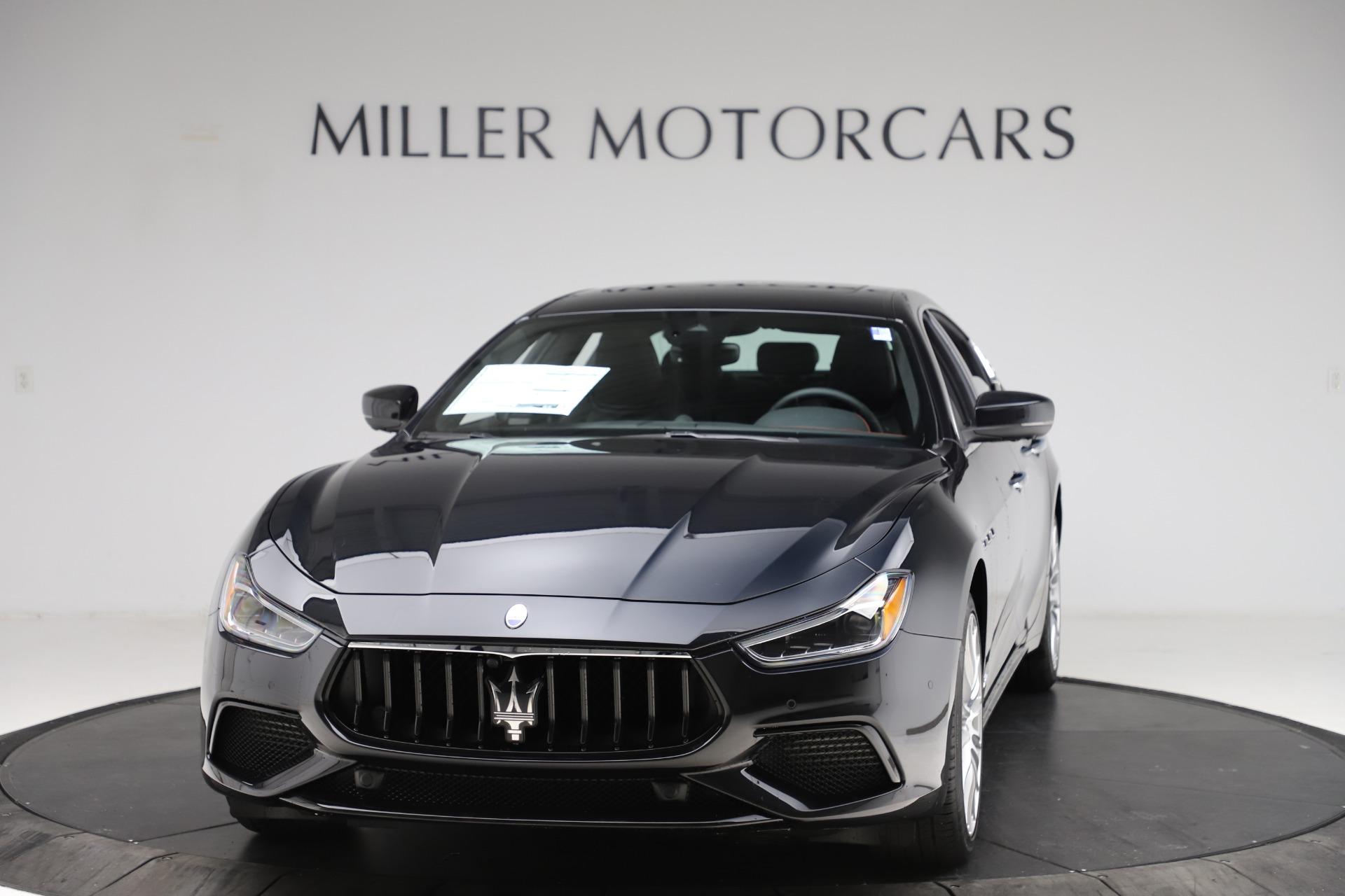 New 2021 Maserati Ghibli S Q4 GranSport for sale $98,035 at Alfa Romeo of Westport in Westport CT 06880 1