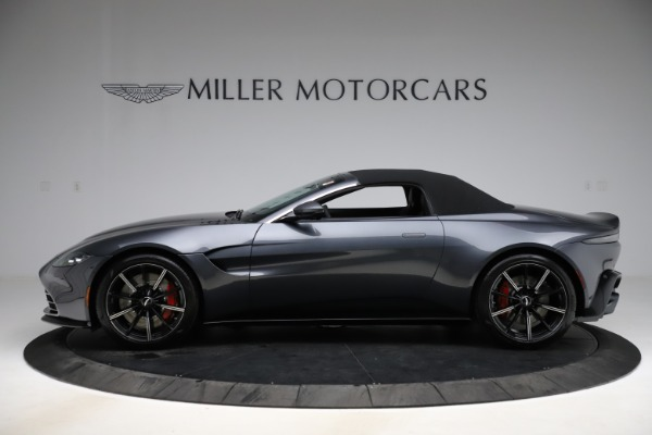 New 2021 Aston Martin Vantage Roadster Convertible for sale Sold at Alfa Romeo of Westport in Westport CT 06880 13