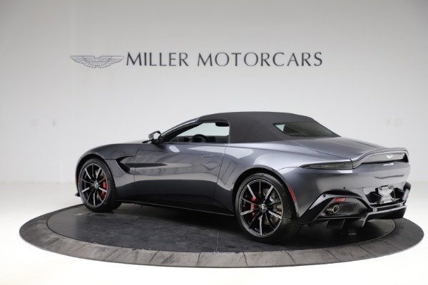 New 2021 Aston Martin Vantage Roadster Convertible for sale Sold at Alfa Romeo of Westport in Westport CT 06880 14