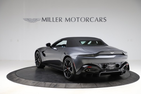 New 2021 Aston Martin Vantage Roadster Convertible for sale Sold at Alfa Romeo of Westport in Westport CT 06880 15