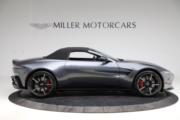 New 2021 Aston Martin Vantage Roadster Convertible for sale Sold at Alfa Romeo of Westport in Westport CT 06880 19