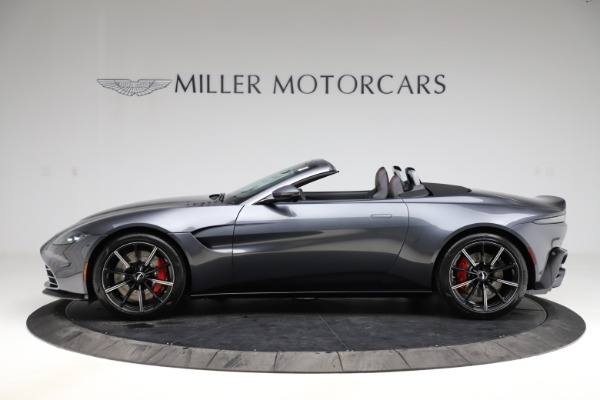 New 2021 Aston Martin Vantage Roadster Convertible for sale Sold at Alfa Romeo of Westport in Westport CT 06880 2