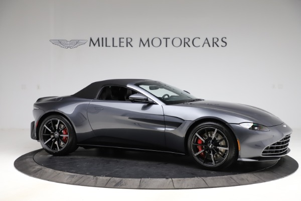 New 2021 Aston Martin Vantage Roadster Convertible for sale Sold at Alfa Romeo of Westport in Westport CT 06880 20