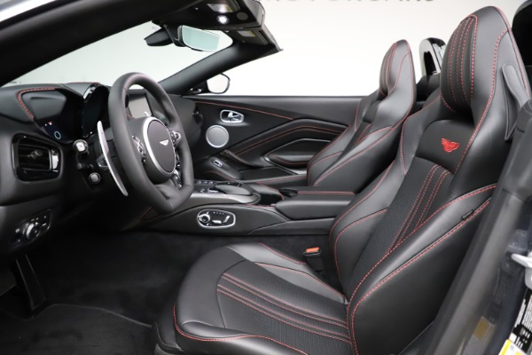 New 2021 Aston Martin Vantage Roadster Convertible for sale Sold at Alfa Romeo of Westport in Westport CT 06880 21