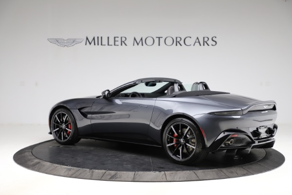 New 2021 Aston Martin Vantage Roadster Convertible for sale Sold at Alfa Romeo of Westport in Westport CT 06880 3