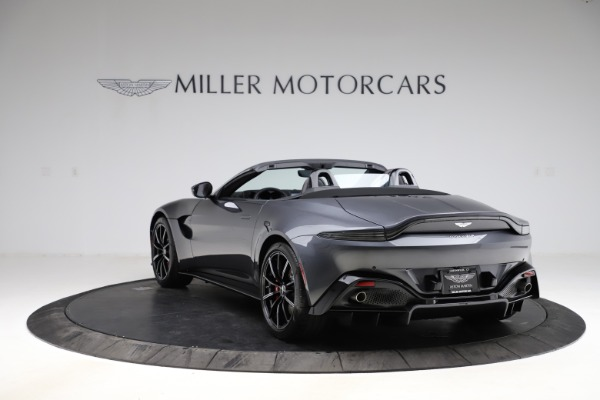 New 2021 Aston Martin Vantage Roadster Convertible for sale Sold at Alfa Romeo of Westport in Westport CT 06880 4
