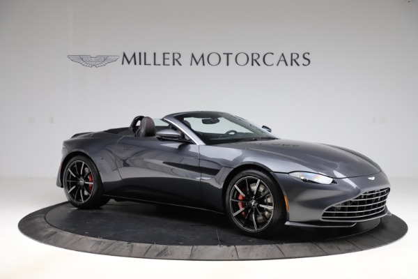 New 2021 Aston Martin Vantage Roadster Convertible for sale Sold at Alfa Romeo of Westport in Westport CT 06880 9