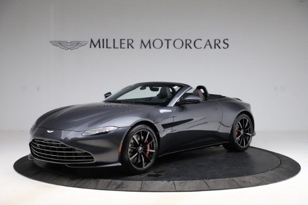 New 2021 Aston Martin Vantage Roadster Convertible for sale Sold at Alfa Romeo of Westport in Westport CT 06880 1