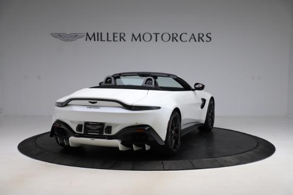 New 2021 Aston Martin Vantage Roadster Convertible for sale $189,186 at Alfa Romeo of Westport in Westport CT 06880 6
