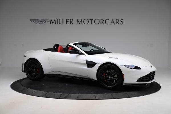 New 2021 Aston Martin Vantage Roadster Convertible for sale $189,186 at Alfa Romeo of Westport in Westport CT 06880 9