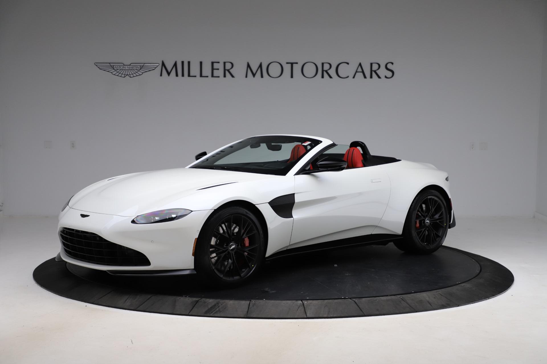 New 2021 Aston Martin Vantage Roadster Convertible for sale $189,186 at Alfa Romeo of Westport in Westport CT 06880 1