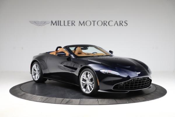 New 2021 Aston Martin Vantage Roadster Convertible for sale $205,686 at Alfa Romeo of Westport in Westport CT 06880 10