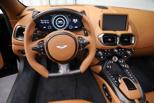 New 2021 Aston Martin Vantage Roadster Convertible for sale $205,686 at Alfa Romeo of Westport in Westport CT 06880 17